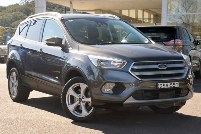 Used Ford Escape ZG 2018.75MY Trend, 2018 Ford Escape ZG 2018.75MY Trend Grey 6 Speed Sports Automatic SUV
