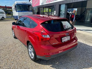 2013 Ford Focus LW MK2 Trend Red 6 Speed Automatic Sedan