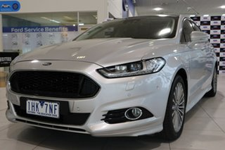 2016 Ford Mondeo MD Titanium Silver 6 Speed Sports Automatic Hatchback.