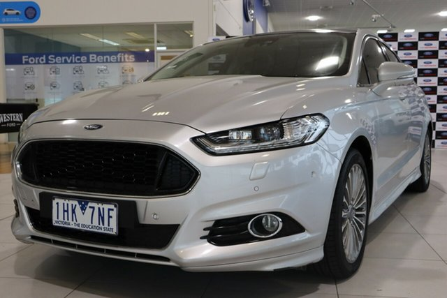 Used Ford Mondeo MD Titanium SelectShift, 2016 Ford Mondeo MD Titanium SelectShift Silver 6 Speed Sports Automatic Hatchback