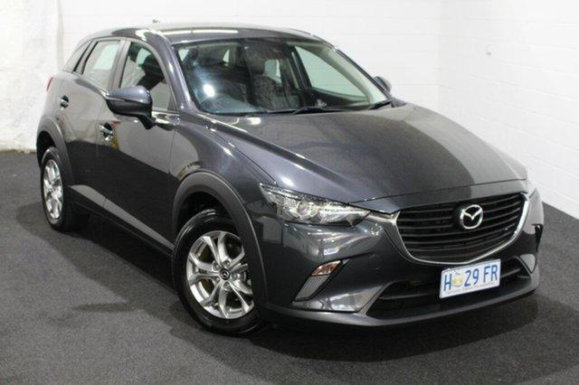 Used Mazda CX-3 DK2W7A Maxx SKYACTIV-Drive Glenorchy, 2017 Mazda CX-3 DK2W7A Maxx SKYACTIV-Drive Meteor Grey 6 Speed Sports Automatic Wagon
