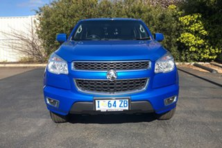 2015 Holden Colorado RG MY15 LT Crew Cab Blue 6 Speed Sports Automatic Utility
