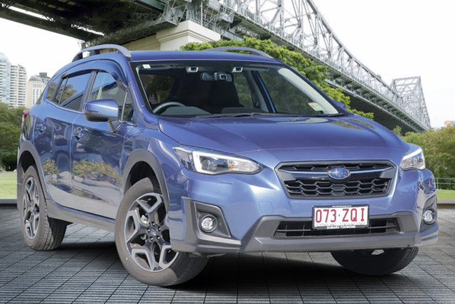 Demo Subaru XV G5X MY20 2.0i-S Lineartronic AWD, 2020 Subaru XV G5X MY20 2.0i-S Lineartronic AWD Quartz Blue 7 Speed Constant Variable Wagon