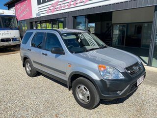 2004 Honda CR-V MY04 (4x4) Sport Winter Classic Silver 4 Speed Automatic Wagon