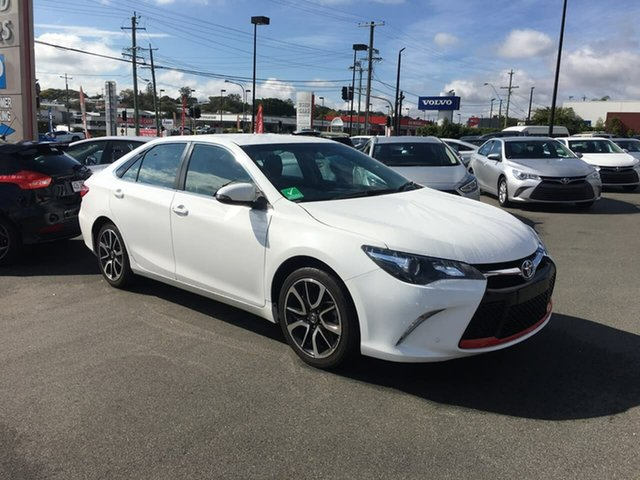 Used Toyota Camry ASV50R Atara SX, 2017 Toyota Camry ASV50R Atara SX White 6 Speed Sports Automatic Sedan