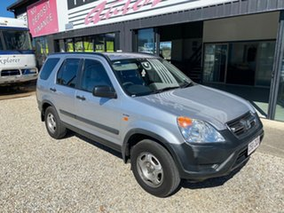 2004 Honda CR-V MY04 (4x4) Sport Winter Classic Silver 4 Speed Automatic Wagon.