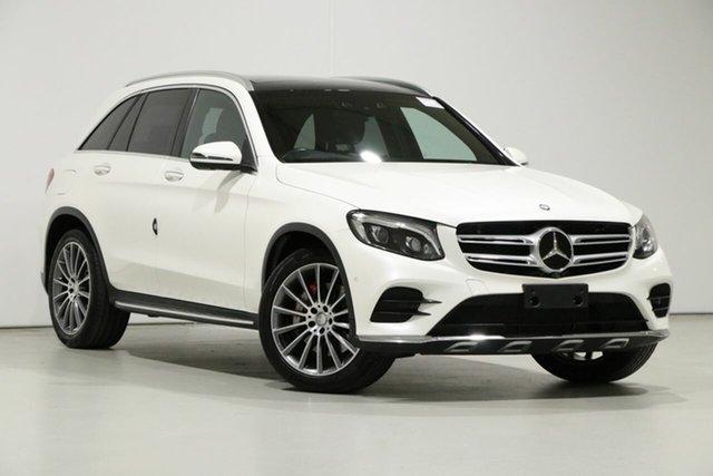 Used Mercedes-Benz GLC250 253 , 2016 Mercedes-Benz GLC250 253 White 9 Speed Automatic Wagon