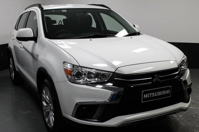 Used Mitsubishi ASX XC MY19 ES 2WD, 2018 Mitsubishi ASX XC MY19 ES 2WD White 1 Speed Constant Variable Wagon