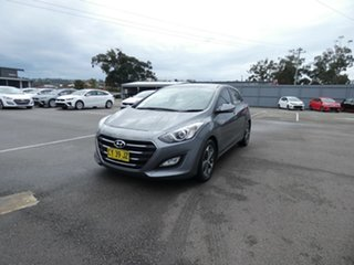 2015 Hyundai i30 GD3 Series II MY16 Active Grey 6 Speed Sports Automatic Hatchback.