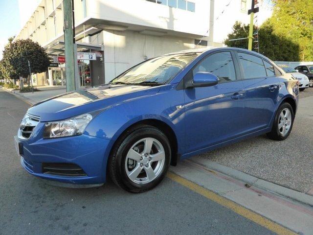 Used Holden Cruze JG CD, 2010 Holden Cruze JG CD Blue 5 Speed Manual Sedan