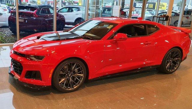 Demo Chevrolet Camaro MY19 ZL1, 2019 Chevrolet Camaro MY19 ZL1 Red Hot 6 Speed Manual Coupe