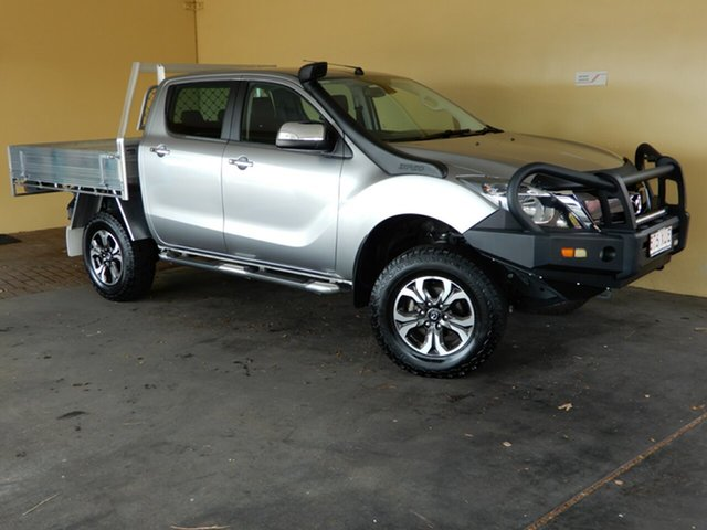 Used Mazda BT-50 MY17 Update GT (4x4), 2017 Mazda BT-50 MY17 Update GT (4x4) Silver 6 Speed Automatic Dual Cab Utility