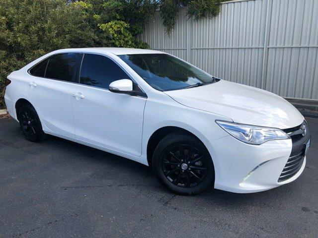Used Toyota Camry ASV50R Altise, 2015 Toyota Camry ASV50R Altise White 6 Speed Sports Automatic Sedan