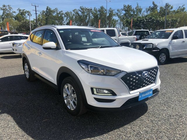 Used Hyundai Tucson TL3 MY19 Active X 2WD Winnellie, 2019 Hyundai Tucson TL3 MY19 Active X 2WD White 6 Speed Automatic Wagon