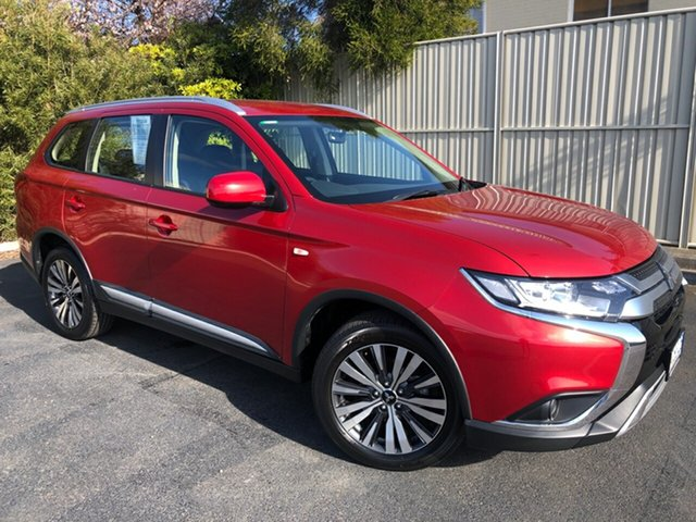 Used Mitsubishi Outlander ZL MY19 ES AWD, 2019 Mitsubishi Outlander ZL MY19 ES AWD Burgundy 6 Speed Constant Variable Wagon
