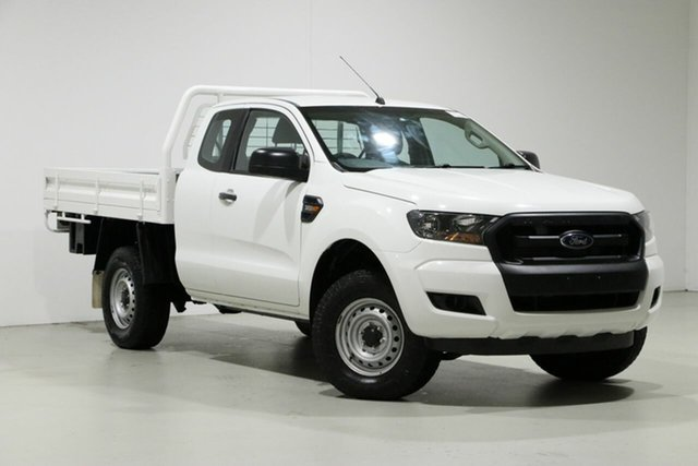 Used Ford Ranger PX MkII XL 3.2 (4x4), 2016 Ford Ranger PX MkII XL 3.2 (4x4) White 6 Speed Manual Super Cab Chassis
