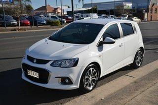 2017 Holden Barina TM MY17 LS White 6 Speed Automatic Hatchback