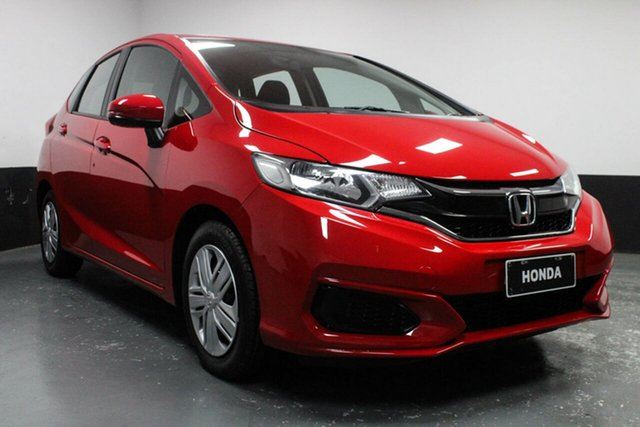 Used Honda Jazz GF MY18 VTi, 2018 Honda Jazz GF MY18 VTi Red 1 Speed Constant Variable Hatchback