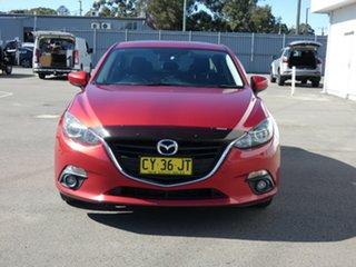 2014 Mazda 3 BM5236 SP25 SKYACTIV-MT Red 6 Speed Manual Sedan.