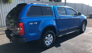 2015 Holden Colorado RG MY15 LT Crew Cab Blue 6 Speed Sports Automatic Utility.