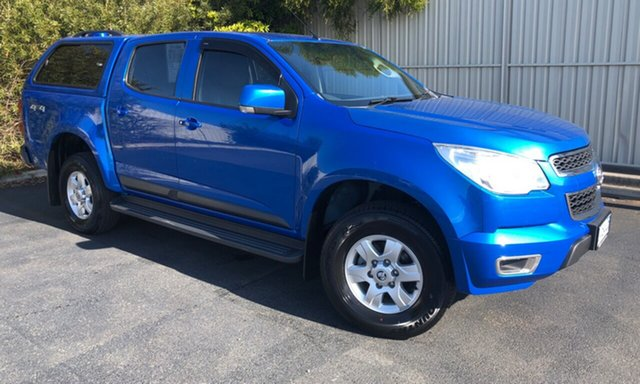 Used Holden Colorado RG MY15 LT Crew Cab, 2015 Holden Colorado RG MY15 LT Crew Cab Blue 6 Speed Sports Automatic Utility