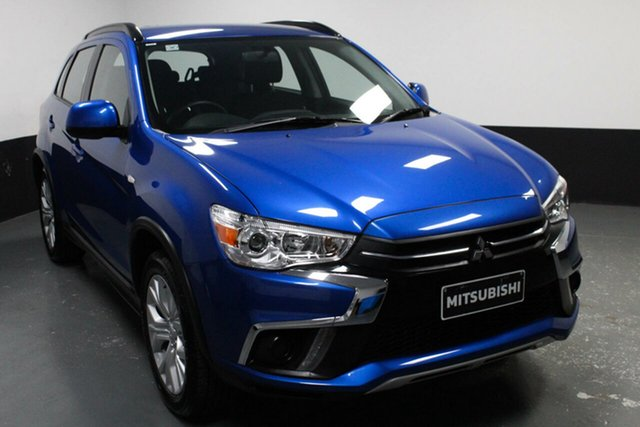 Used Mitsubishi ASX XC MY19 ES 2WD, 2018 Mitsubishi ASX XC MY19 ES 2WD Blue 1 Speed Constant Variable Wagon