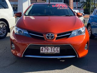 2013 Toyota Corolla ZRE182R Ascent S-CVT Orange 7 Speed Constant Variable Hatchback