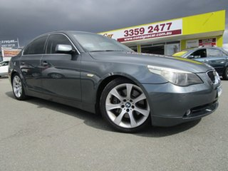 2003 BMW 5 Series E60 545i Steptronic Grey 6 Speed Sports Automatic Sedan