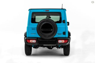 2020 Suzuki Jimny JB74 Blue 4 Speed Automatic Hardtop.
