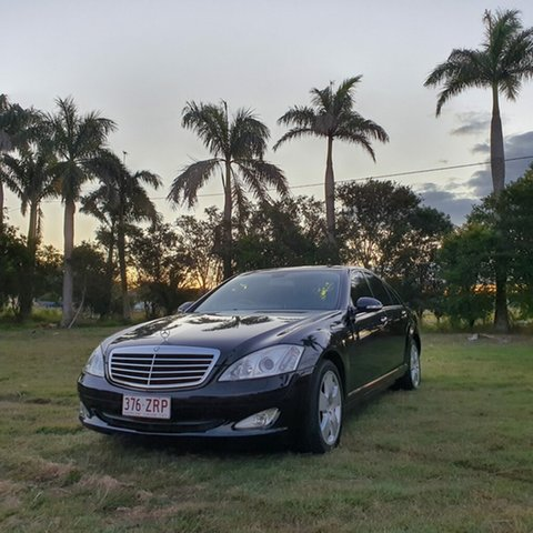 Used Mercedes-Benz S-Class V221 MY07 S350 L, 2006 Mercedes-Benz S-Class V221 MY07 S350 L Black 7 Speed Automatic Sedan