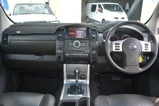2012 Nissan Navara D40 ST-X 550 (4x4) White 7 Speed Automatic Dual Cab Utility