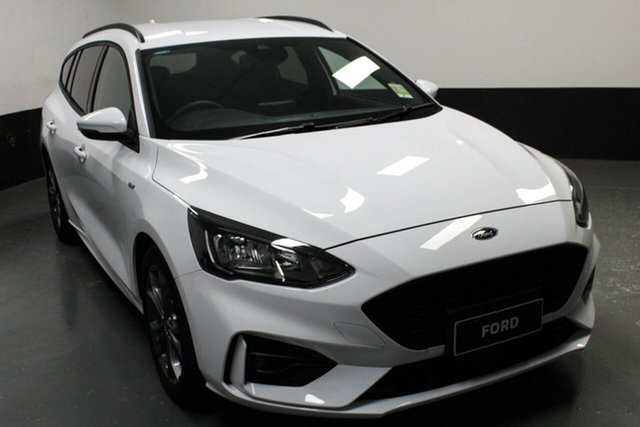 Used Ford Focus SA 2019MY ST-Line, 2018 Ford Focus SA 2019MY ST-Line White 8 Speed Automatic Wagon