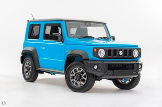 2020 Suzuki Jimny JB74 Blue 4 Speed Automatic Hardtop