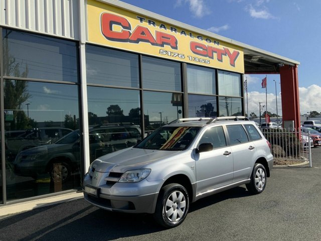 Used Mitsubishi Outlander ZF MY07 LS, 2006 Mitsubishi Outlander ZF MY07 LS Silver 4 Speed Auto Sports Mode Wagon