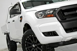 2017 Ford Ranger PX MkII MY17 XL 3.2 (4x4) White 6 Speed Automatic Crew Cab Chassis.