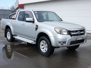 2011 Ford Ranger PK XLT Super Cab Silver 5 Speed Manual Pick Up.