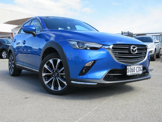Used Mazda CX-3 DK2W7A sTouring SKYACTIV-Drive FWD, 2019 Mazda CX-3 DK2W7A sTouring SKYACTIV-Drive FWD Blue 6 Speed Sports Automatic Wagon
