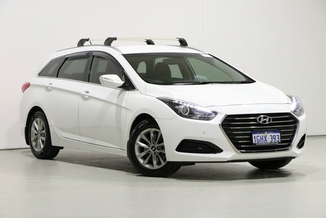 Used Hyundai i40 VF4 Series II MY17 Active Tourer, 2017 Hyundai i40 VF4 Series II MY17 Active Tourer White 7 Speed Auto Dual Clutch Wagon