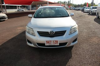 2009 Toyota Corolla ZRE152R Ascent Silver Pearl 6 Speed Manual Sedan.