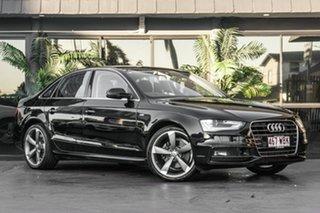 2015 Audi A4 B8 8K MY15 S Line Multitronic Black 8 Speed Constant Variable Sedan.