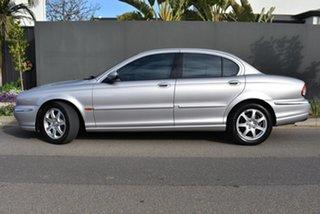 2003 Jaguar X-Type X400 Silver 5 Speed Automatic Sedan.