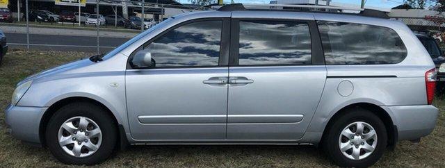 Used Kia Grand Carnival VQ EX-L, 2009 Kia Grand Carnival VQ EX-L Silver 5 Speed Sports Automatic Wagon