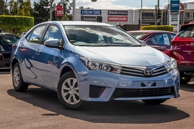 Used Toyota Corolla ZRE172R Ascent S-CVT, 2014 Toyota Corolla ZRE172R Ascent S-CVT Blue 7 Speed Constant Variable Sedan