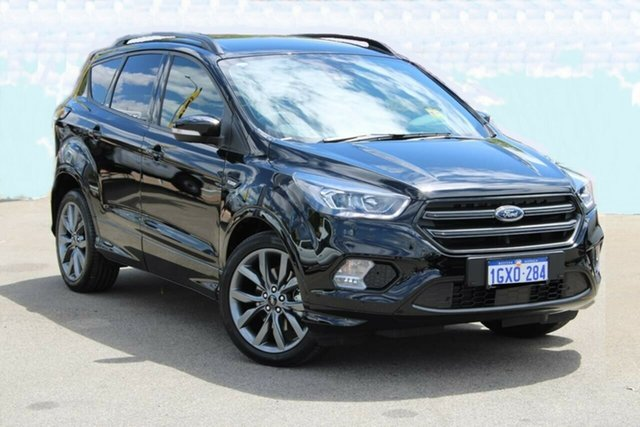 Demo Ford Escape ZG 2019.75MY ST-Line, 2019 Ford Escape ZG 2019.75MY ST-Line Black 6 Speed Sports Automatic Wagon