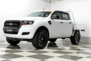 2017 Ford Ranger PX MkII MY17 XL 3.2 (4x4) White 6 Speed Automatic Crew Cab Chassis
