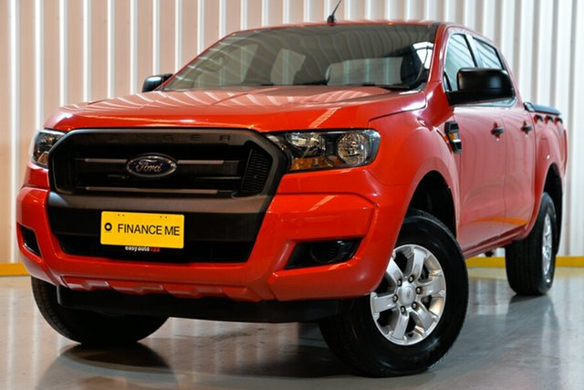 Used Ford Ranger PX MkII XL Double Cab, 2017 Ford Ranger PX MkII XL Double Cab Red 6 Speed Sports Automatic Utility