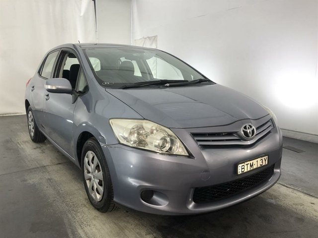 Used Toyota Corolla ZRE152R MY11 Ascent, 2010 Toyota Corolla ZRE152R MY11 Ascent Grey 6 Speed Manual Hatchback