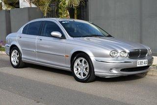 2003 Jaguar X-Type X400 Silver 5 Speed Automatic Sedan