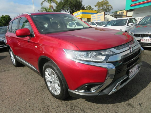 Used Mitsubishi Outlander ZL MY20 ES AWD, 2019 Mitsubishi Outlander ZL MY20 ES AWD Red 6 Speed Constant Variable Wagon