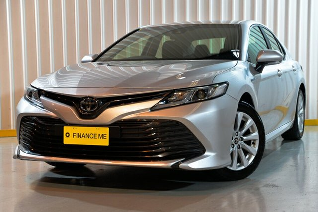 Used Toyota Camry AXVH71R Ascent, 2018 Toyota Camry AXVH71R Ascent Silver 6 Speed Constant Variable Sedan Hybrid